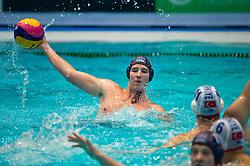 21-01-2012 WATERPOLO: EC NETHERLANDS - TURKEY: EINDHOVEN<br /> European Championships Netherlands - Turkey / Robin Lindhout<br /> (c)2012-FotoHoogendoorn.nl / Peter Schalk