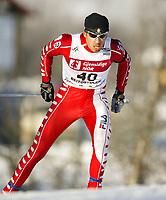Langrenn, 22. november 2003, Verdenscup Beitostølen,  Valerio Checchi, Italia