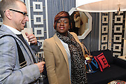 TAMEKA EMPSON, Jonathan Adler Store opening. Sloane St. London. 16 November 2011. <br /> <br />  , -DO NOT ARCHIVE-&copy; Copyright Photograph by Dafydd Jones. 248 Clapham Rd. London SW9 0PZ. Tel 0207 820 0771. www.dafjones.com.