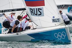 2012 Olympic Games London / Weymouth<br /> Match Race Quarter Final