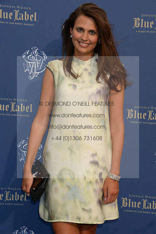 The Johnnie Walker Blue Label and David Gandy Drinks Reception aboard John Walker & Sons Voyager, St.Georges Stairs Tier, Butler's Wharf Pier, London, UK on 16th July 2013.<br /> Picture Shows:-Olivia Cole.