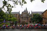 Illustration peloton Men Road Race 230,4 km, during the Cycling European Championships Glasgow 2018, in Glasgow City Centre and metropolitan areas, Great Britain, Day 11, on August 12, 2018 - Photo Luca Bettini / BettiniPhoto / ProSportsImages / DPPI - Belgium out, Spain out, Italy out, Netherlands out -