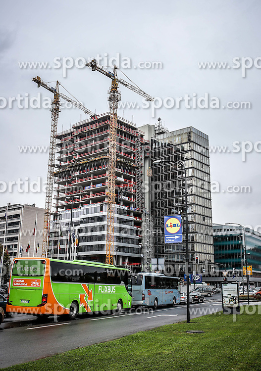 Construction site of new InterContinental Hotel, on October 21, 2016 in Ljubljana, Slovenia. Photo by Matic Klansek Velej / Sportida