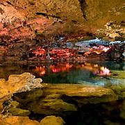Interior of Cenote Kantun-Chi. Quintana Roo. Mexico.