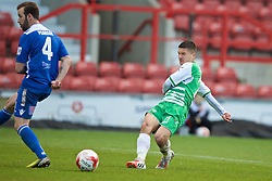 WREXHAM, WALES - Monday, May 2, 2016: The New Saints' Adrian Cieslewicz in action against Airbus UK Broughton during the 129th Welsh Cup Final at the Racecourse Ground. (Pic by David Rawcliffe/Propaganda)