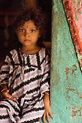 India. Child at Nagapattinam. Tamil Nadu State, 2005