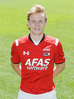 Guus Hupperts during the team photocall of AZ Alkmaar on July 17, 2015 at Afas Stadium in Alkmaar, The Netherlands