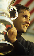 Seve Ballesteros World Matchplay Championship Wentworth 1991<br /> Picture Credit:  Mark Newcombe / www.visionsingolf.com