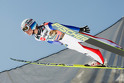 Rune Velta of Norway soars through the air during the Ski Flying Individual Qualification at Day 1 of FIS World Cup Ski Jumping Final, on March 19, 2015 in Planica, Slovenia. Photo by Vid Ponikvar / Sportida