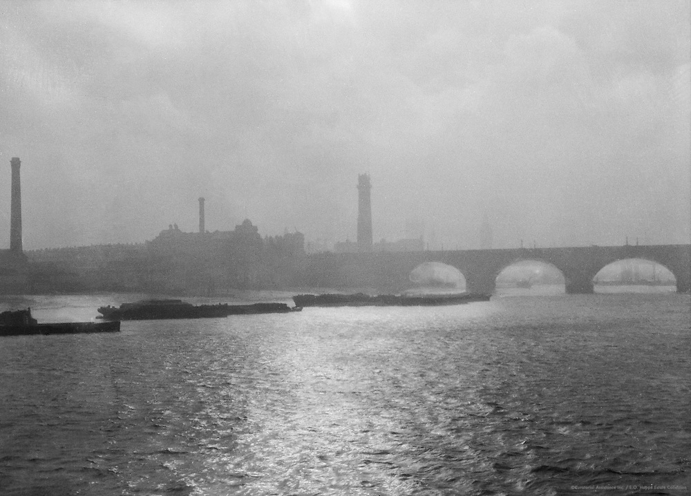 London River View, London, 1916