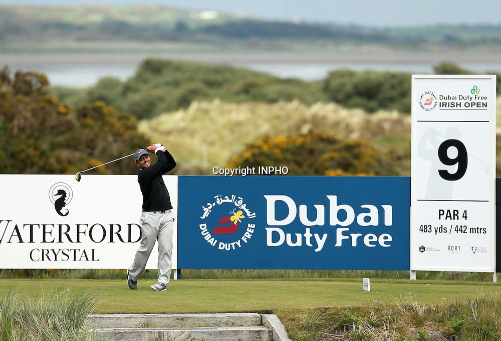 2015 Dubai Duty Free Irish Open Day 1, Royal County Down Golf Club, Co. Down 28/5/2015 <br /> Francesco Molinari<br /> Mandatory Credit &copy;INPHO/Presseye/Matt Makey