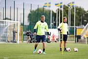 SWIDNIK, POLEN 2017-06-13<br /> Gustav Engvall under U21 landslagets tr&auml;ning p&aring; Stadion Miejski den 13 juni 2017.<br /> Foto: Nils Petter Nilsson/Ombrello<br /> Fri anv&auml;ndning f&ouml;r kunder som k&ouml;pt U21-paketet.<br /> Annars Betalbild.<br /> ***BETALBILD***