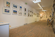 The Crypt in Church Street, Seaford, East Sussex<br /> <br /> Opening of the Seaford Photographic Society Exhibition 2016 by former Photo-journalist for Picture Post Grace Robertson. The exhibition will be open 1000-1700 everyday from 13-25 August 2016. Admission free