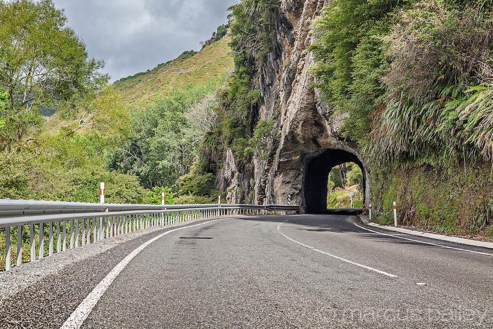 SH3 Awakino Gorge tunnel, Waikato, New Zealand