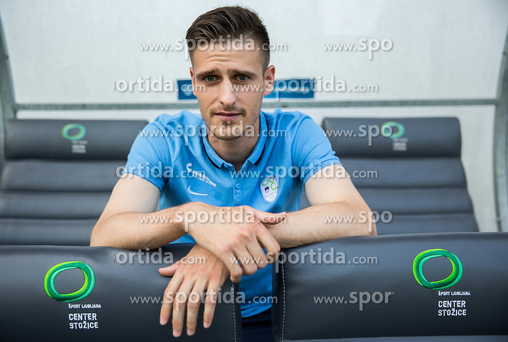 Andraz Struna during practice session of Slovenian National Football Team before Euro 2016 Qualifications match against England, on June 12, 2015 in SRC Stozice, Ljubljana, Slovenia. Photo by Vid Ponikvar / Sportida