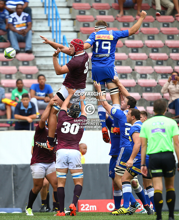 CAPE TOWN, SOUTH AFRICA - FEBRUARY 13: GV  during the Super Rugby Pre Season match between DHL Stormers and Jaguares at DHL Newlands Stadium on February 13, 2016 in Cape Town, South Africa. (Photo by Steve Haag/Gallo Images)