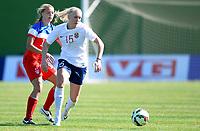 Fotball <br /> La Manga<br /> 28.02.2015<br /> Foto: Morten Olsen/Digitalsport<br /> <br /> Women U23 tournament<br /> Landskamp kvinner U23<br /> Norge v USA / Norway v USA 0:2<br /> <br /> Maria Thorisdottir (15) - Norge