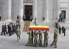 MAR 23 2014 Funeral of Spanish Prime Minister Adolfo Suarez
