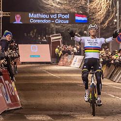 2019-12-29: Cycling: Superprestige: Diegem: Come day, come night , Mathieu van der Poel is unstopable