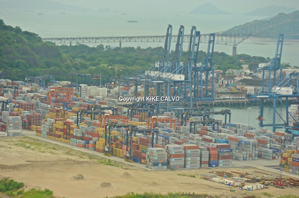 The Port of Balboa, operated by Panama Ports Company (PPC) - the Panama-based subsidiary of the HPH Group.