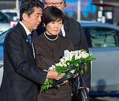 Christchurch-Japan's Prime Minister visits CTV site