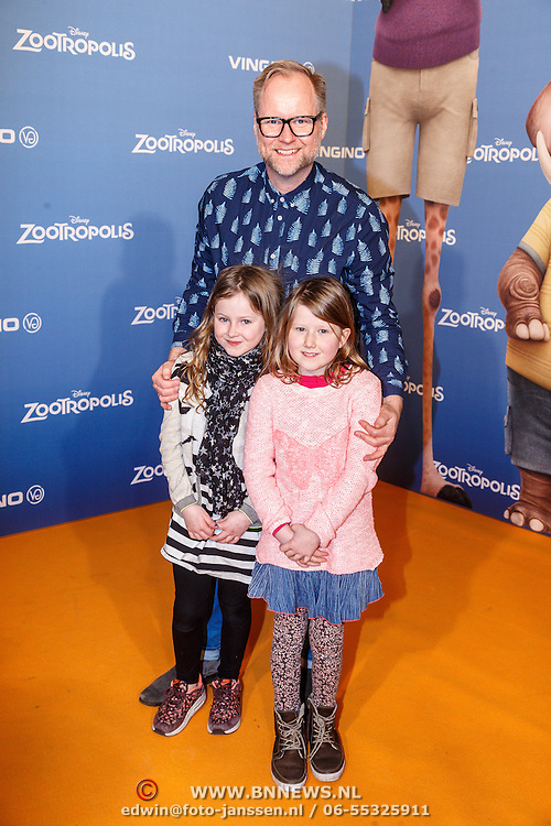 NLD/Amsterdam/20160213 - Premiere Zootropolis, Ad Knipsel