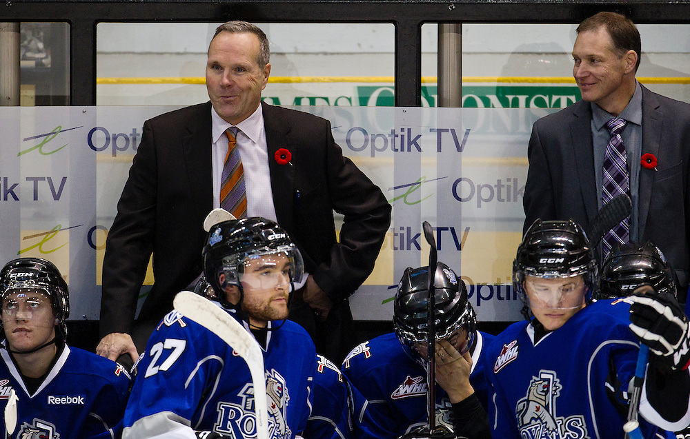 Victoria Royals play host to the Kelowna Rockets at the Save-on-Foods Memorial Centre Oct 26, 2013-  (Photo by Kevin Light)