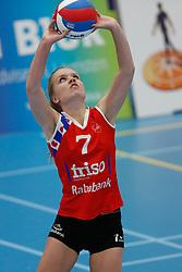 20190112 NED: Sliedrecht Sport - VC Sneek: Sliedrecht<br />Chanel Baas (7) of VC Sneek<br />©2019-FotoHoogendoorn.nl / Pim Waslander