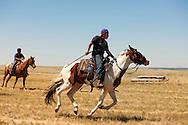 Fort Belknap Indian Reservation, Montana, kids, horses