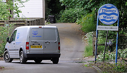 © Licensed to London News Pictures. 10/06/2013<br /> Thames Water paid no corporation tax last year during a year in which revenues soared to £1.8billion and it received £5million credit from the Treasury. Thames water van Eynsford,Kent.<br /> Photo credit :Grant Falvey/LNP