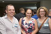 Michael Mosel, Teresa Hall & Emma Farnel. RLB 40th Birthday, Hilton. Photo Shane Eecen Creative Light Studios