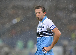 October 29, 2018 - Italy - Senad Lulic during the Italian Serie A football match between S.S. Lazio and Inter at the Olympic Stadium in Rome, on october 29, 2018. (Credit Image: © Silvia Lor/Pacific Press via ZUMA Wire)