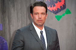 © Licensed to London News Pictures. 03/08/2016. BEN AFFLECK attends the Suicide Squad UK Film Premiere  London, UK. Photo credit: Ray Tang/LNP