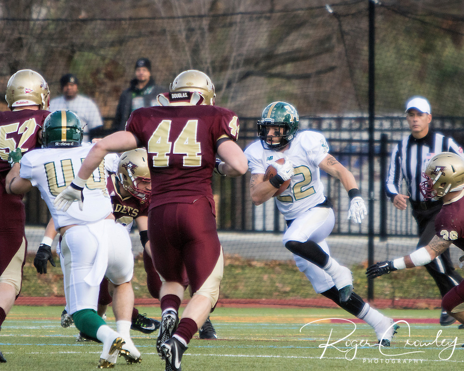 NORTHFIELD VT - Norwich University defeated Husson College for the 2015 ECAC Championship by a score of 20-17.