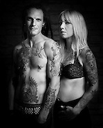 Tattooed Couple