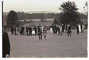 Wedding of Charles Fraser, hon Mrs. Lucy Pearson, Cowdray park. 23 July 1988.