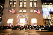 New York, New York. Etats Unis. 18 Decembre 2010.Tiffany (Angle 5eme Avenue et 57th Street)..New York, New York. United States. December 18th 2010.Tiffany's (Corner 5th Avenue and 57th Street)