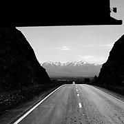 Road Kerman-Shiraz, Iran, West Asia