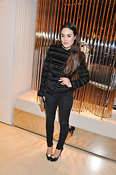 TALLULAH HARLECH at the Salvatore Ferragamo Old Bond Street Boutique Store Launch on 5th December 2012.
