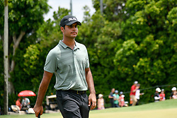 October 13, 2018 - Kuala Lumpur, Malaysia - Shubhankar Sharma of India in action during third round of the CIMB Classic at TPC Kuala Lumpur on 13 October, 2018 in Kuala Lumpur, Malaysia  (Credit Image: © Chris Jung/NurPhoto via ZUMA Press)