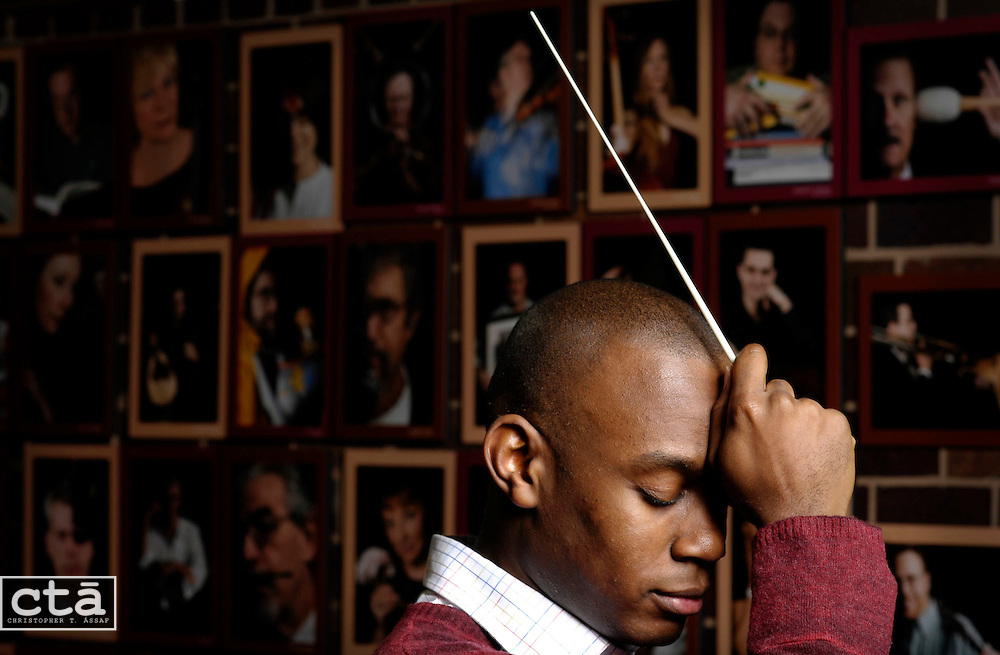 A former high school music teacher from South Carolina, Joseph Young is the first recipient of The Baltimore Symphony Orchestra's conducting fellowship co-sponsored by the Peabody Institute. He will make his first appearance conducting the overture in Mozart's The Magic Flute.