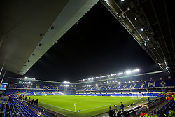 LIVERPOOL, ENGLAND - Monday, December 19, 2016: A general view of Everton's Goodison Park stadium before the FA Premier League match against Liverpool, the 227th Merseyside Derby, at Goodison Park. (Pic by David Rawcliffe/Propaganda)