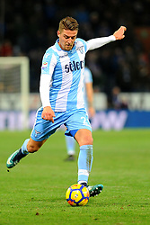 Italian Championship soccer 2017/2018 Sampdoria vs Lazio. 03 Dec 2017 Pictured: Sergej Milincovic-Savic of SS Lazio in action during the italian championship serie a match between UC Sampdoria and SS Lazio played at Luigi Ferraris stadium in Genoa, on December 03, 2017. Photo credit: Massimo Cebrelli / MEGA TheMegaAgency.com +1 888 505 6342