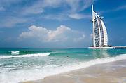 Jumeirah, Burj Al Arab, the World's most luxurious hotel.