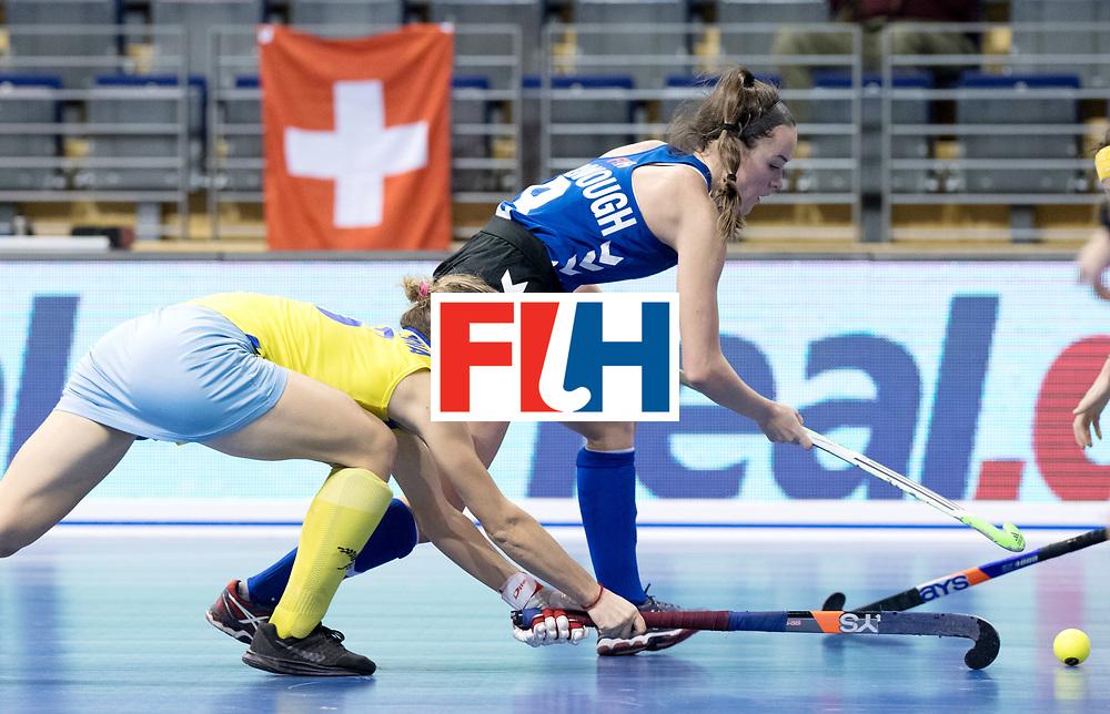 BERLIN - Indoor Hockey World Cup<br /> Women: United States - Kazakhstan<br /> foto: McDONOUGH Anarose.<br /> WORLDSPORTPICS COPYRIGHT FRANK UIJLENBROEK