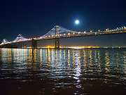 Bay Bridge, Full Moon
