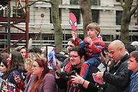 The Amazing Spider-Man 2 - World film premiere, Odeon Leicester Square, London UK, 10 April 2014, Photo by Richard Goldschmidt