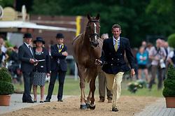 Todd Mark (NZL) - Oloa<br /> Horse Inspection <br /> CCI4*  Luhmuhlen 2014 <br /> © Hippo Foto - Jon Stroud