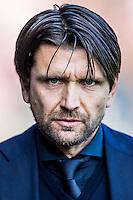 NIJMEGEN - NEC - Vitesse , Voetbal , Eredivisie , Seizoen 2016/2017 , Stadion de Goffert , 23-10-2016 ,Trainer trainer coach NEC Peter Hyballa