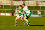 SFC at Pairc Tailteann, Navan, 16th April 2016<br /> St Patricks vs Donaghmore/Ashbourne<br /> Diarmaid Quinn (St Patricks) & Conor Carton (Donaghmore/Ashbourne)<br /> Photo: David Mullen /www.cyberimages.net / 2016